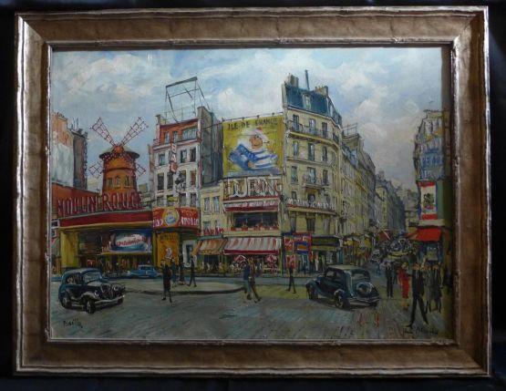 'Площадь Бланш'. Alice Bailly, начало ХХ в.