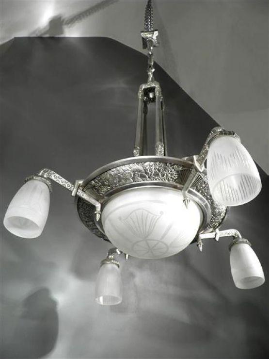 Люстра в стиле Ар-Деко. Европа, 1925 г.