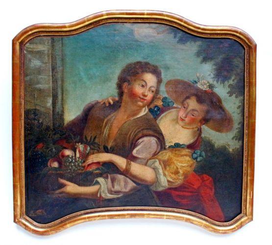 Картина. Французская школа живописи, XVIII в.