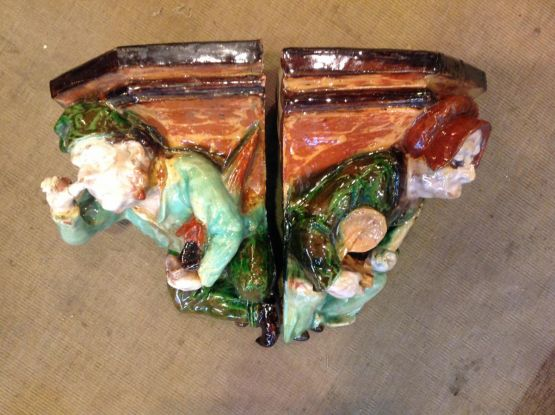 Два керамических декора. Франция, XX в.